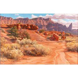 Ken Stockton, oil on canvas
