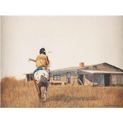 David Halbach, watercolor