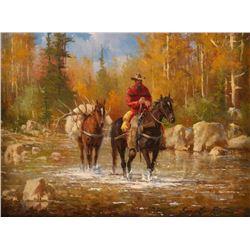Gary Lynn Roberts, oil on canvas