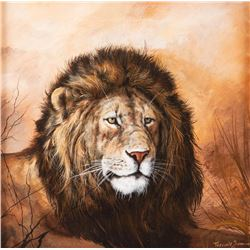 Trevor V. Swanson, oil on canvas