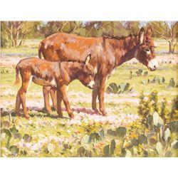Jimmy Dyer, oil on canvasboard