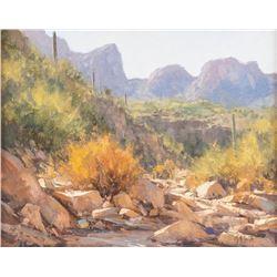 Matt Smith, oil on canvasboard