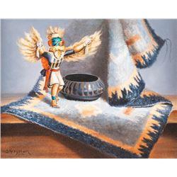Sue Krzyston, oil on canvas