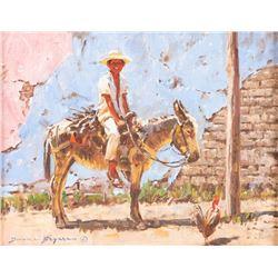 Duane Bryers, oil on canvas