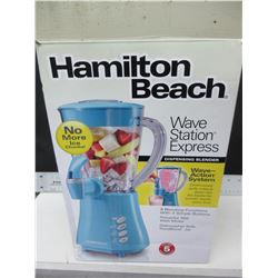 New Hamilton Beach Dispensing Blender / Wave Station Express/ 9 functions