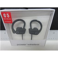 New G5 Sport Wireless Bluetooth Power3 Headphones with Mic & more