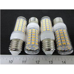 4 New 69 LED Cobb Lightbulbs / save huge on power / warm white= to 60watt