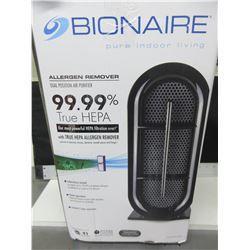 Bionair Allergen Remover 99.99% True Hepa most powerful ever # BAP529BC-CN