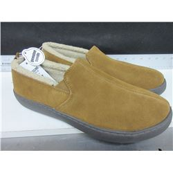 New Mossimo Genuine Suede Slippers non marking sole size 11
