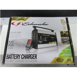 New Schumacher Battery Charger 10a charge 3a maintain for standard AGM