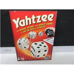 New Hasbro Yahtzee Game