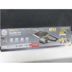 New GE Ultra Pro Stealth HD Antenna / full HD1080p 4K Ultra HD/Free local TV