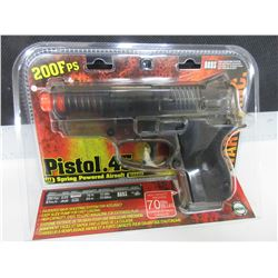 New .45 Caliber Air Soft Pistol / 200fps spring power / large 70bb magazine