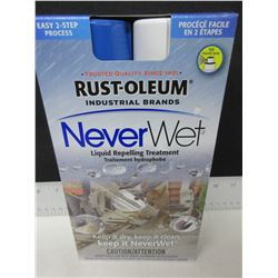 New Rust-Oleum Never Wet / Repells Water + Ice from almost any surface