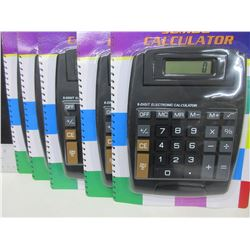Lot of 5 New Calculators / great for home or office