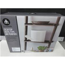 New Hometrends Desktop Hepa-type Air Purifier