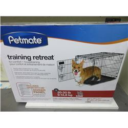 New Petmate Training Retreat/wire Kennel for 20-30lb/ beagle,cocker spaniel etc.