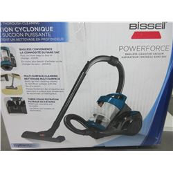 New Bissell Power Force Bagless Canister Vacuum with accessories