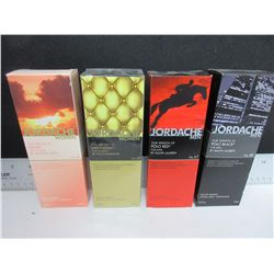 New Jordache Fragrance for Men & Women / Polo red & Black / Glow & Lady Million