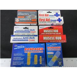 New First Aid Bundle / Band Aids & Creams great value here.