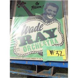 WADE RAY POSTER