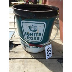WHITE ROSE GUN GREASE PAIL