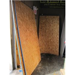 10 PIECES 4 X 8 OSB SHEETS