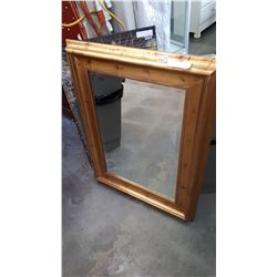 BEVELLED WALL MIRROR