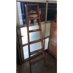 6FT WOODEN LADDER