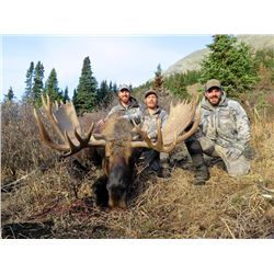 BRITISH COLUMBIA MOOSE HUNT