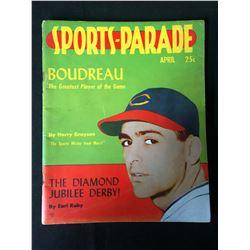 1949 Sports Parade Magazine