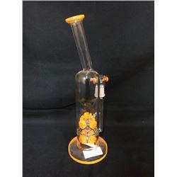 EVOLUTION BLAZE ORANGE 14.5 GLASS BONG