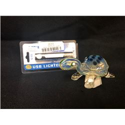 420 ACCESSORIES LOT (PIPE/ USB LIGHTER)