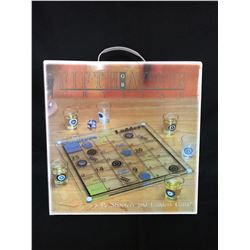 FIFTH AVENUE CRYSTAL 8 PIECE SHOOTERS & LADDERS GAME