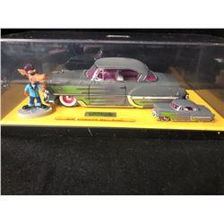 Road Rats 2 Car Set Jada 1953 Chevy Bel-air 1:24 1:64 Scale Big Bad Wolf Chevrolet '53