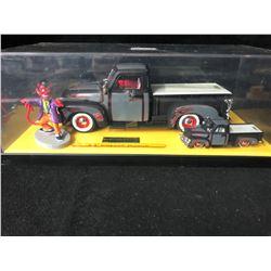 1953 CHEVY Pickup & DEVIL Figure RARE Jada ROAD RATS Diecast 2 Car Set 1:64/1:24