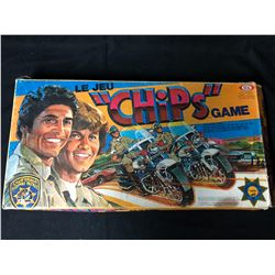 """CHIPS Vintage Board Game """"The Chase Is On"""" (RARE)"""