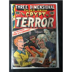1954 Golden Age Horror Comic #2 TALES FROM THE CRYPT 3-D