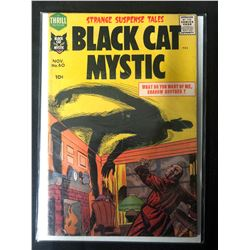 Black Cat Mystic #60 1957- Jack Kirby Issue- Harvey Horror Comic