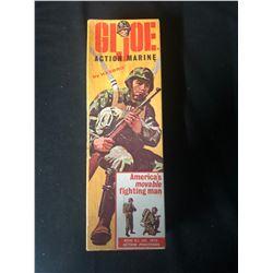 VINTAGE G.I.JOE ACTION MARINE (1964)