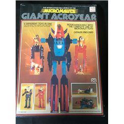 MEGO MICRONAUTS GIANT ACROYEAR ROBOT ACTION FIGURE (1977) Original Box