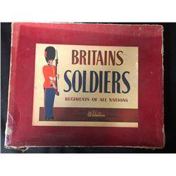 Vintage Britain's Prairie Schooner Cast Metal Toy