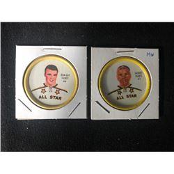 1961-62 Shirriff Coin Lot (Original 6 Teams)