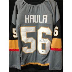 Erik Haula Signed Golden Knights Jersey (Beckett COA)