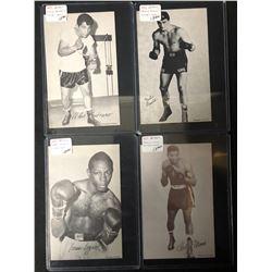 1947-66 Boxing Exhibits Boxing Card Lot (Pastrano/ Logart...)