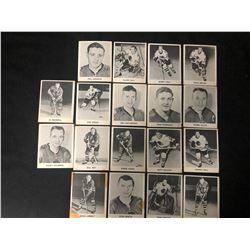 1965-66 COCA COLA HOCKEY CARD LOT