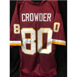 Jamison Crowder Signed Redskins Jersey (JSA COA)