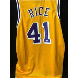 Glen Rice Signed Lakers Jersey (JSA COA)