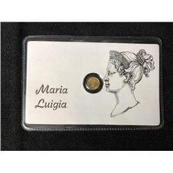 MARIA LUIGIA MINI GOLD COIN