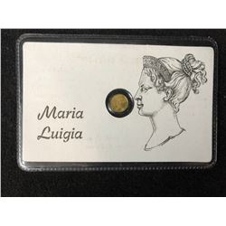 MARIA LUIGIA MINI GOLD COIN